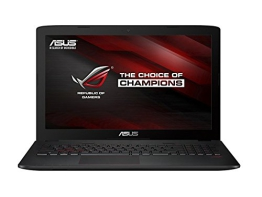 Asus ROG GL552JX-CN154T 39,6 cm (15,6 Zoll matt FHD) Notebook (Intel Core i7-4720HQ, 8GB RAM, 1TB HDD+128GB HDD, NVIDIA GF 950M, Win 10 Home) schwarz - 1