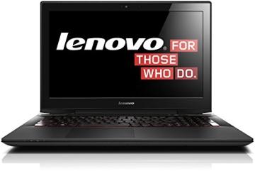 Lenovo Y50-70 39,6 cm (15,6 Zoll UHD IPS) Notebook (Intel Core i7-4710HQ, 3,5 GHz, 12GB RAM, Hybrid SSHD 1TB (8GB), NVIDIA GeForce GTX 860M/4GB, kein Betriebssystem) schwarz - 1