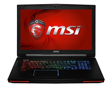 MSI 001781-SKU21 43,9 cm (17,3 Zoll) Notebook (Intel Core-i7 4720, 2,8GHz, 16GB RAM, 1256GB HDD/SSD, Win 8) schwarz - 1