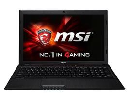 MSI GP60-2QEI545FD 0016GH-SKU5 39,6 cm (15,6 Zoll) Notebook (Intel Core-i5 4210H, 2,9GHz, 4GB RAM, 500GB HDD, kein Betriebssystem) schwarz - 1