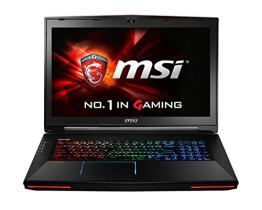MSI MSI Notebook GT72-2QE16SR21BW schwa/grau 001781-SKU1013  43.94 cm (17,3 Zoll) Notebooks (Intel core_i7 Broadwell i7-5700HQ 2.7GHz, 16GB RAM, 256GB HDD, nVidia Geforce GTX 980M, Windows 10 Home) schwarz/grau - 1