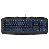 Sharkoon Skiller Pro beleuchtete Gaming Tastatur (9 Multimedia-, 6 Makro- und 3 Profil-Tasten, Software, USB) schwarz - 1