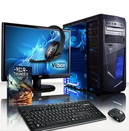 VIBOX Ultra Paket 11A - 3.8GHz Quad Core, Gaming PC, Desktop Computer mit WarThunder Spiel Bundle (3.1GHz (3.8GHz Turbo) AMD A8 APU Prozessor, Radeon HD7560D Integriert Grafik-Chip, 1TB Festplatte, 8 GB 1600MHz RAM) - 1